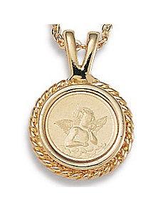 Guardian Angel Pendant by PalmBeach Jewelry