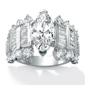 Cubic Zirconia Ring