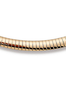 "Goldtone Omega 16"" by PalmBeach Jewelry"