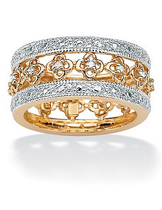 Diamond Eternity Band by PalmBeach Jewelry
