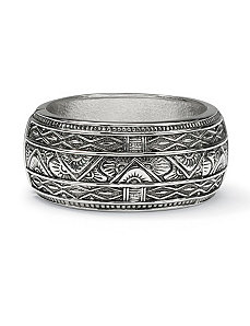 Antiqued Bangle Bracelet by PalmBeach Jewelry