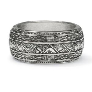 Antiqued Bangle Bracelet