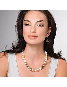 Simulated Pearl Necklace by PalmBeach Jewelry