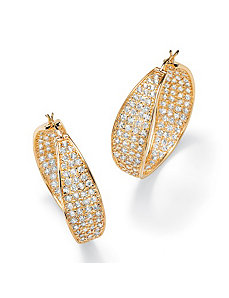 Hoop Earrings by PalmBeach Jewelry