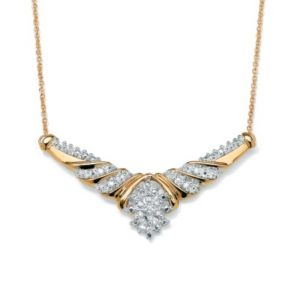 "Diamond Necklace 18"" Length"