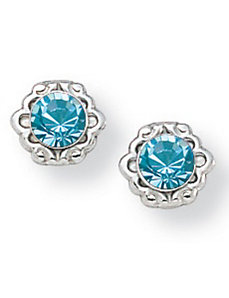 Birthstone Earrings by PalmBeach Jewelry