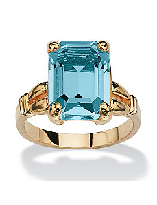 Birthstone Simulated Ring by PalmBeach Jewelry