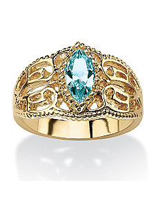 Birthstone Ring by PalmBeach Jewelry