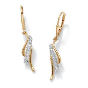 Diamond Accent Pierced Earrings