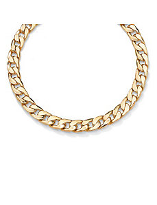 Curb-Link Necklace by PalmBeach Jewelry
