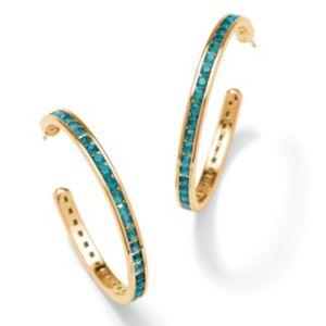 Birthstone Pierced Earrings