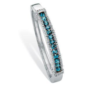 Silvertone Birthstone Bracelet