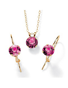 Birthstone Jewelry Set by PalmBeach Jewelry