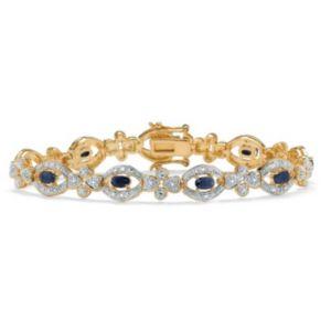 Midnight Sapphire/Diamond Bracelet