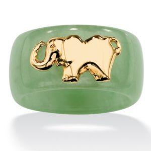 Green Jade Elephant Band