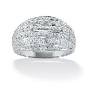 Diamond Accent Dome Ring