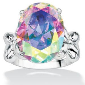 Aurora Borealiscubic zirconia Ring