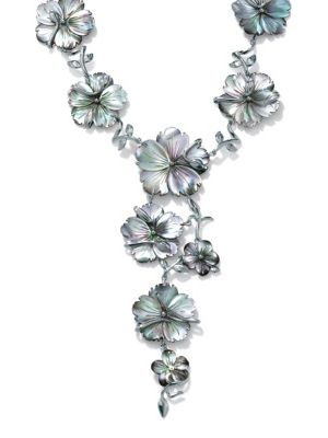 Black Mother-of-Pearl Necklace