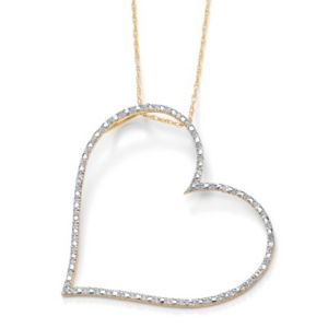 Diamond Accent Heart Pendant