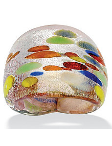 Multi-Colored Glass Ring by PalmBeach Jewelry