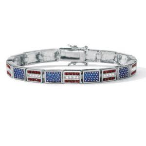 Patriotic Flag Bracelet