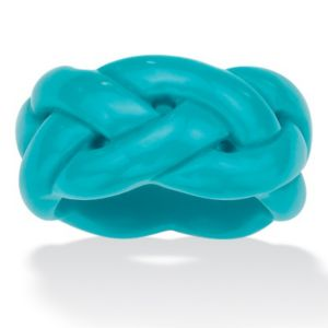 Viennese Turquoise Braided Band