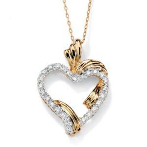 Diamond Heart-Shaped Pendant