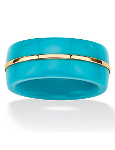 Viennese Turquoise Band by PalmBeach Jewelry