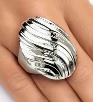 Swirled Dome Ring
