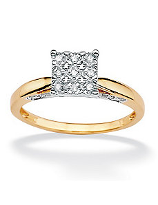 Diamond Pave Ring by PalmBeach Jewelry