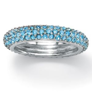 Birthstone Eternity Band
