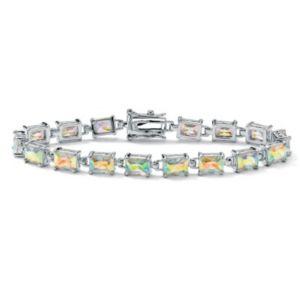 Aurora Borealiscubic zirconia Tennis Bracelet