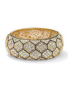 Multi-Crystal Hexagon Bracelet by PalmBeach Jewelry
