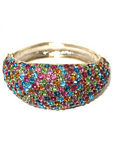 Multi-Colored Crystal Bracelet by PalmBeach Jewelry