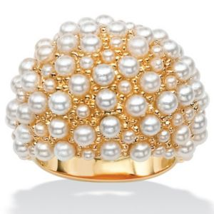 Simulated Pearl Cluster Dome Ring