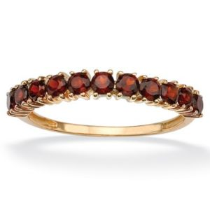 Stackable Garnet Ring