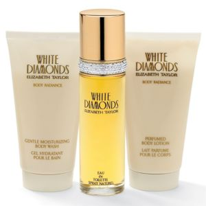 White Diamonds 3-Piece Gift Set