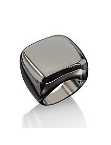 Squared Dome Ring by PalmBeach Jewelry