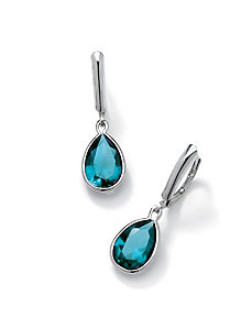 Pear-Shaped Birthstone Earrings by PalmBeach Jewelry