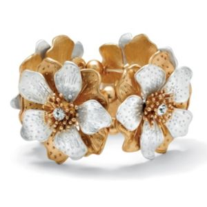 Multi-Petal Flower Stretch Bracelet
