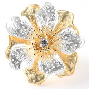 Multi-Petal Flower Stretch Ring