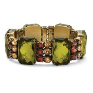 Olive/Champagne/Amber Bracelet