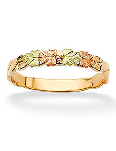 Multi-Leaf Band by PalmBeach Jewelry