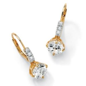 Roundcubic zirconia Earrings
