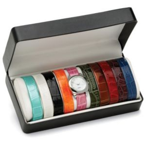 Interchangeable Strap Watch Set