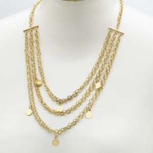 Multi-Chain and Disk Necklace