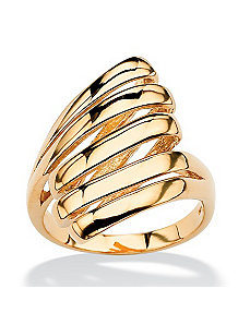 Multi-Row Dome Ring by PalmBeach Jewelry