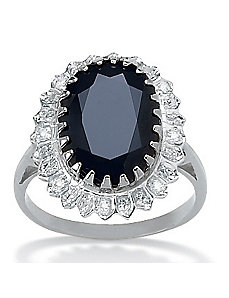 Midnight Blue Sapphire Ring by PalmBeach Jewelry