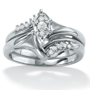 2-Piece Diamond POS Ring Set
