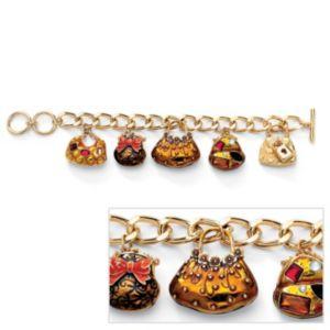 Crystal Handbag Heaven Bracelet